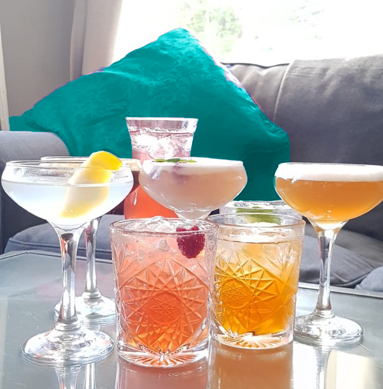 cocktail teal